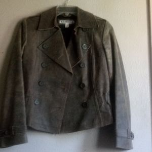 Express Precision Fit Leather Jacket